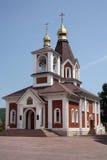 Igreja da cristandade fotografia de stock
