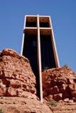 Igreja da cruz santamente imagens de stock