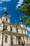 A igreja da cruz santamente Fotos de Stock Royalty Free