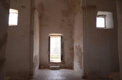 Igreja da cruz santamente, interior Imagem de Stock