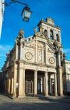 Igreja da Graca church of Evora. Alentejo, Portugal. Stock Photo