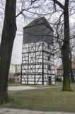 Igreja da herança de madeira da paz em Swidnica no Polônia foto de stock royalty free