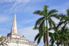 Igreja da História do St. George em Malaysia foto de stock royalty free