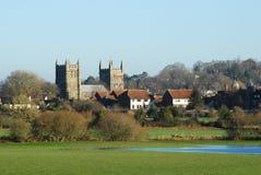 Igreja da igreja de Wimborne Imagens de Stock Royalty Free