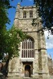 Igreja da igreja de Wimborne Fotos de Stock Royalty Free
