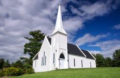 Igreja da jarda de Brown, Novo Brunswick Fotografia de Stock Royalty Free