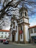 Igreja da Misericordia. At Guarda, Portugal Stock Photo