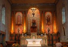 Igreja da missão do século XVIII Imagens de Stock