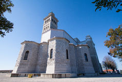 Igreja da montanha do azevinho Imagens de Stock