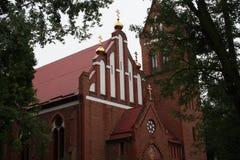 A igreja da natividade da Virgem Maria abençoada Imagem de Stock