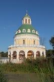 Igreja da natividade do Virgin abençoado, região de Moscou, vil Imagens de Stock Royalty Free