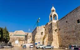 Igreja da natividade em Bethlehem, Palestina imagem de stock royalty free