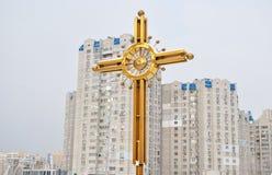 Igreja da ortodoxia Fotos de Stock Royalty Free