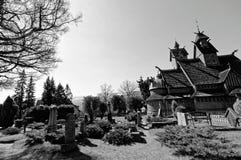 Igreja da pauta musical de Vang Foto de Stock
