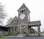 A igreja da pedra Fotos de Stock