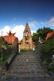 Igreja da pedra de Pohsarang imagens de stock royalty free
