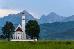 Igreja da peregrinação Fotos de Stock Royalty Free
