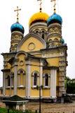 Igreja da proteção da Virgem Santa imagem de stock