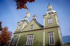 Igreja da revelação de Cristo em Prienai foto de stock royalty free