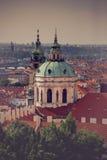 Igreja da São Nicolau de Praga Fotografia de Stock