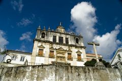 Igreja da Santa Justa, Coimbra, Portugal. The church of saint Justa in Coimbra, Portugal Stock Photography