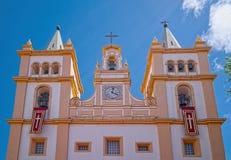 Igreja DA Santissimo Salvador da Se, Angra, Azoren Lizenzfreie Stockfotos