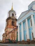 Igreja da suposição Cidade de Yelets imagem de stock