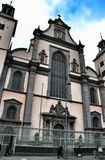 Igreja da suposição da Virgem Maria abençoada na água de Colônia imagens de stock