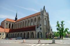 Igreja da suposição de nossos senhora e St John o batista Fotografia de Stock
