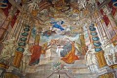 Igreja da suposição de StMary s, Samobor, Croácia, 14 imagens de stock