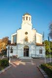 Igreja da suposição do Virgin abençoado no Pomorie velho, Bulgária Fotos de Stock