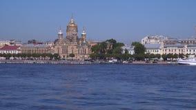 Igreja da suposição em St Petersburg Foto de Stock Royalty Free