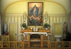 Igreja da suposição, Tomales, CA Fotografia de Stock Royalty Free