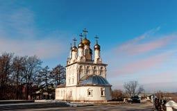 Igreja da transfiguração devotada a S Yesenin, Ryazan, Rússia fotografia de stock