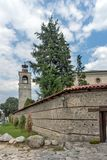 A igreja da trindade santamente na cidade de Bansko, região de Blagoevgrad, Bulgária Fotografia de Stock