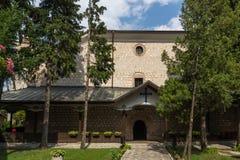 A igreja da trindade santamente na cidade de Bansko, região de Blagoevgrad, Bulgária Imagem de Stock Royalty Free