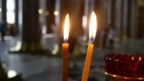 Igreja da vela da religião vídeos de arquivo
