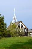 A igreja da Virgem Maria abençoada em Nida, Lituânia fotografia de stock royalty free