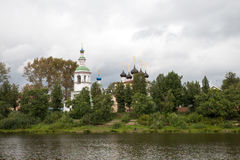 Igreja da vista de Rússia Imagens de Stock