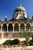 Igreja das beatitudes. Imagem de Stock