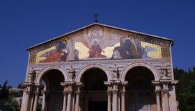 Igreja das nações (Jerusalem) fotos de stock royalty free