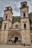 Igreja das pessoas de 950 anos em Montenegro Imagens de Stock