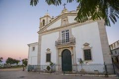Igreja de Σάντα Μαρία στο Λάγκος Πορτογαλία Στοκ φωτογραφία με δικαίωμα ελεύθερης χρήσης