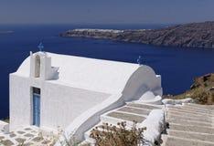 Igreja de Agios Georgios fotografia de stock royalty free
