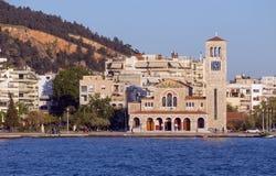 Igreja de Agios Konstantinos, Volos, Grécia Imagem de Stock