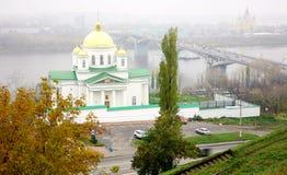 Igreja de Alekseevskaya do monastério do aviso Fotografia de Stock Royalty Free