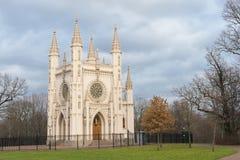Igreja de Alexander Nevsky Orthodox de Saint. St Petersburg. Rússia Fotografia de Stock
