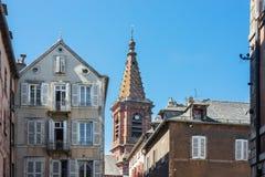 Igreja de Amans de Saint em Rodez, França Fotografia de Stock Royalty Free