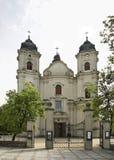 Igreja de apóstolos do St em Chelm poland Fotografia de Stock