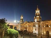 Igreja de Arequipa Imagem de Stock Royalty Free